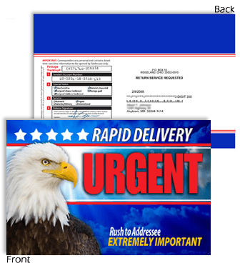 6 X 9 Rapid Delivery URGENT with Eagle