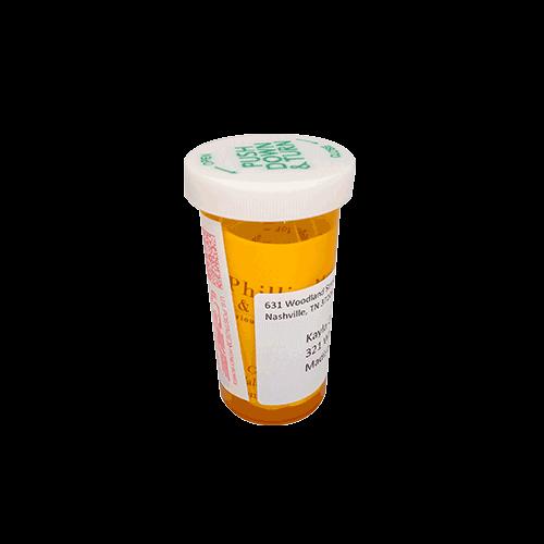 Pill Bottle Self Mailer